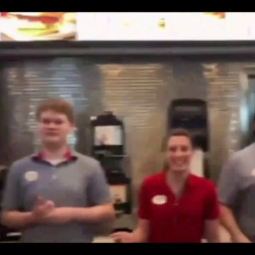 Worship group stops at Nashville Chick-fil-A and patrons busts out singing 'Lean on Me' song 7-15-19
