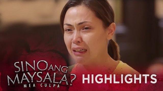Fina gets emotional in the Court hearing   Sino Ang Maysala