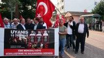 15 Temmuz'da 3 veren Cide'de demokrasi nöbeti