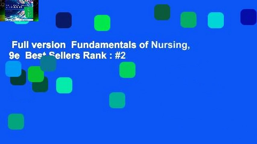 Full version  Fundamentals of Nursing, 9e  Best Sellers Rank : #2