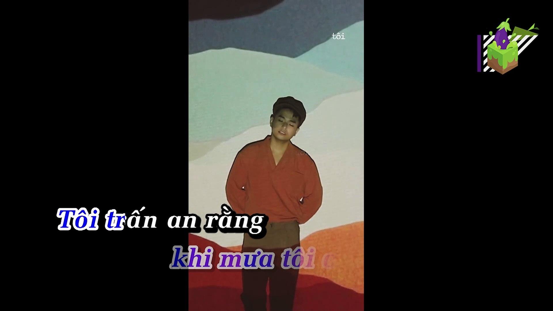 [Karaoke] Mưa Chầm Chậm Thời 90S - Phạm Hồng Phước [Beat]