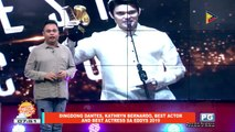 FIFIRAZZI: Dingdong Dantes, Kathryn Bernado, best actor and best actress sa Eddys 2019
