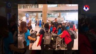 Đội tuyển U19 nữ Việt Nam được đón tiếp chu đáo tại Hàn Quốc | VFF Channel