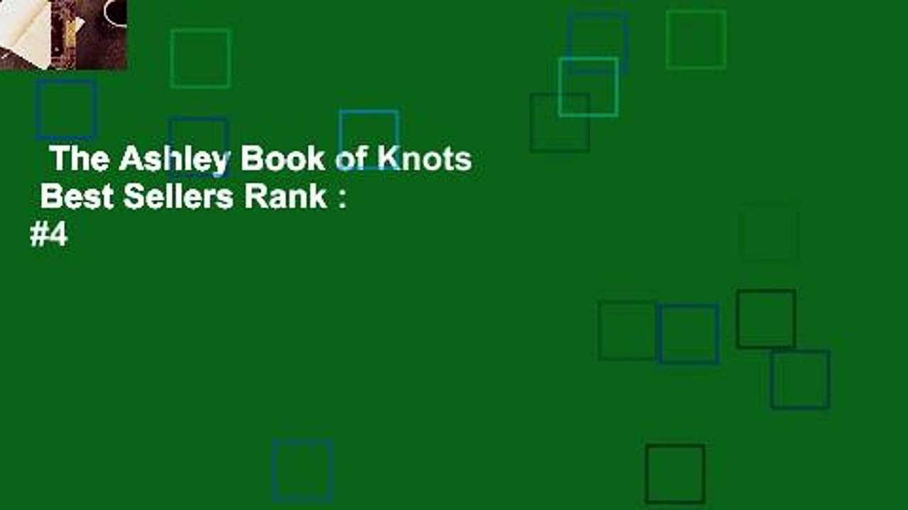 The Ashley Book of Knots  Best Sellers Rank : #4