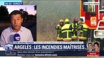 Les incendies à Argelès-sur-Mer ont été maîtrisés par les pompiers