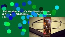 Full version  Player's Handbook (Dungeons & Dragons, 5th Edition)  Best Sellers Rank : #4