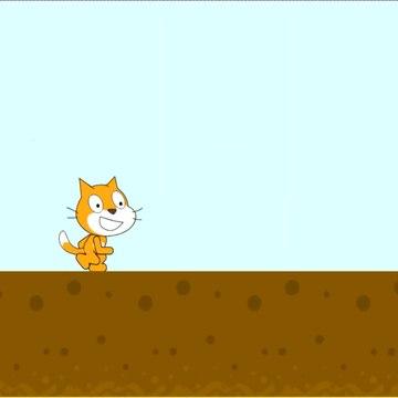 Scratch 2D Game Platformer English&Turkçe - Scratch İlerlemeli Platform Yapımı