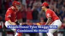 The Angels Pay Their Respects To Tyler Skaggs