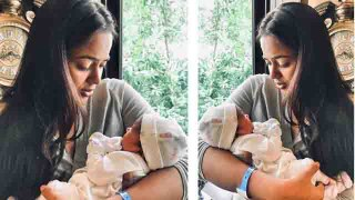 Sameera Reddy shares her daughter's first photo on Instagram; Check out | FilmIBeat