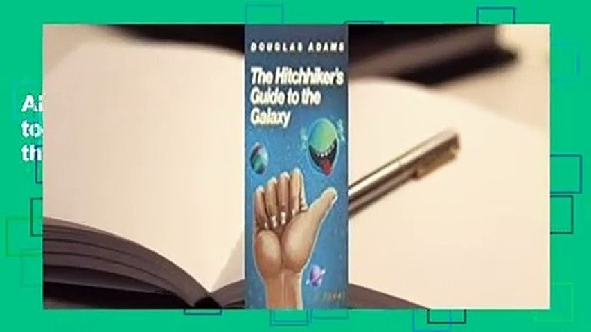 About For Books  The Hitchhiker's Guide to the Galaxy (Hitchhiker's Guide to the Galaxy, #1)