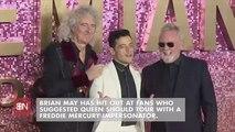 It's A Freddie Mercury Impersonator Or Adam Lambert