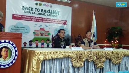 Health secretary Fransico Duque aims to regain public trust on vaccination