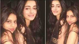 Suhana Khan enjoys party with Ananya Pandey in Club; Watch video | FilmiBeat