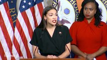 Ocasio-Cortez Says Trump Is Challenging America's Core Values