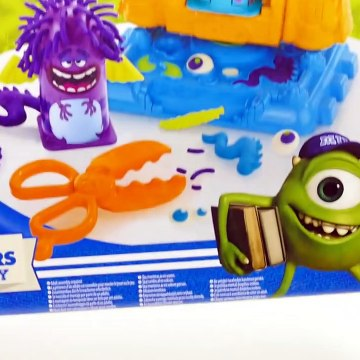 Play Doh MONSTER UNIVERSITY Play Set
