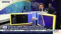 Ursula von der Leyen affronte le Parlement européen - 16/07