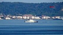 Çanakkale Rus savaş ve askeri kurtarma gemisi Akdeniz'e iniyor