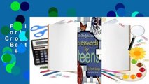 Full E-book  The New York Times on the Web Crosswords for Teens  Best Sellers Rank : #5