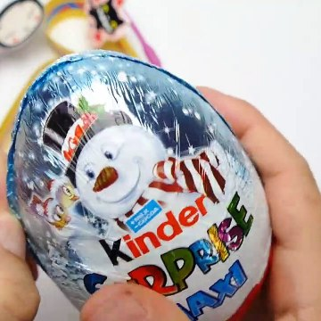 Kinder Maxi Surprise Egg with Surprise Toys