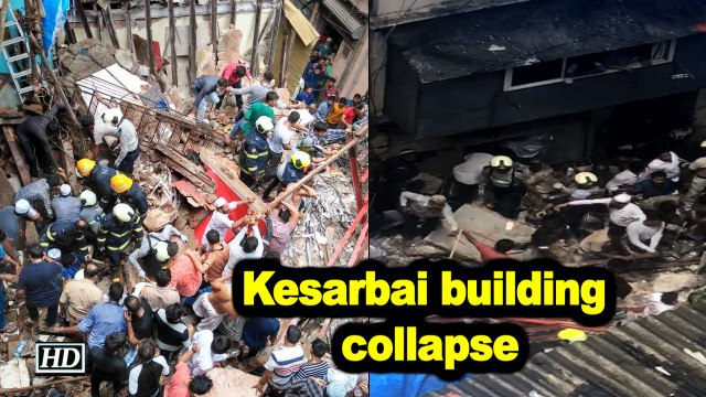 Mumbai building collapses, many feared trapped