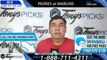 Padres vs Marlins MLB Pick 7/16/2019