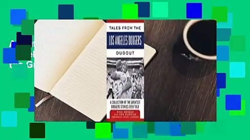 About For Books  Tales from the Los Angeles Dodgers Dugout: A Collection of the Greatest Dodgers