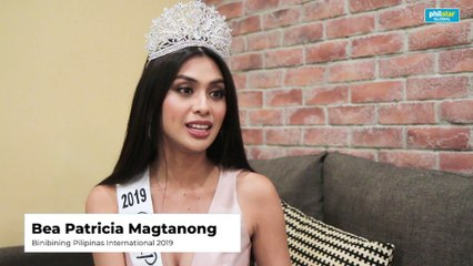 Binibining Pilipinas International 2019  Bea Patricia Magtanong talks about Kylie Verzosa