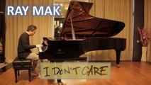 Ed Sheeran & Justin Bieber - I Don't Care Piano by Ray Mak