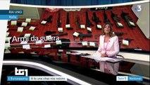 Eurozapping : des groupes armés arrêtés en Italie et en Russie