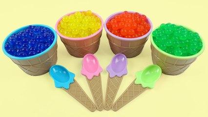 ORBEEZ Ice Cream Surprise Eggs Toys Monster Paw Patrols My Little Pony Disney Cars Donald Duck