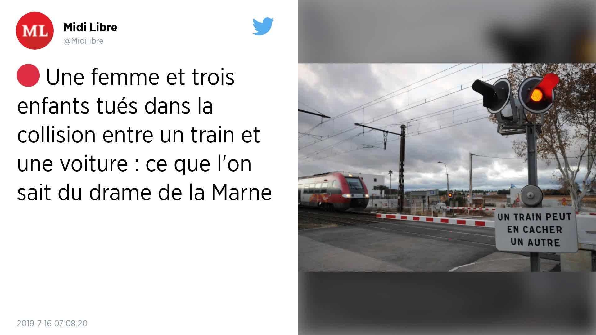 Accident Sur Était Les Voies Engagée Un MarneQuatre De TrainLa « Dans Voiture Morts » DW9IeEH2Y