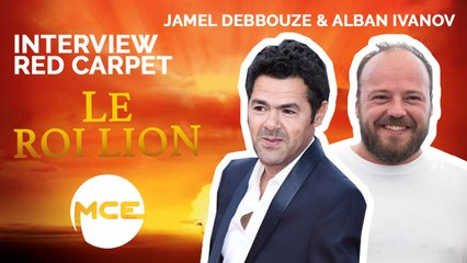 "Le Roi Lion : Jamel Debbouze et Alban Ivanov ""On a l'impression de rentrer au Louvres"" [INTERVIEW]"