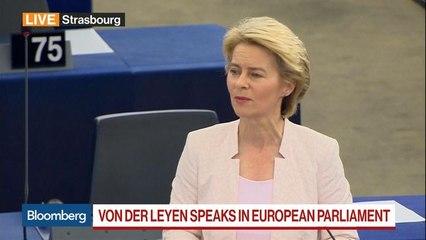 Von der Leyen Facing EU Vote