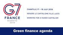 #G7Finance: green finance agenda