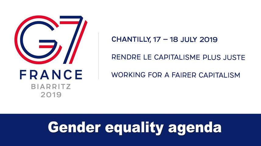 #G7Finance: gender equality agenda