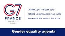 #G7Finance: gender equality agenda
