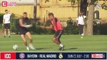 Benzema et Hazard combinent déjà parfaitement à l'entraînement