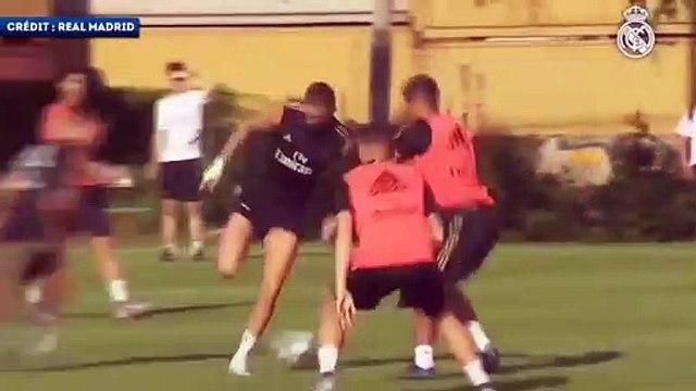 La connexion Benzema-Hazard fonctionne déjà au Real Madrid