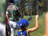 NBA - Curry ravit un jeune fan