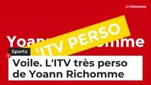 L'ITV perso de Yoann Richomme