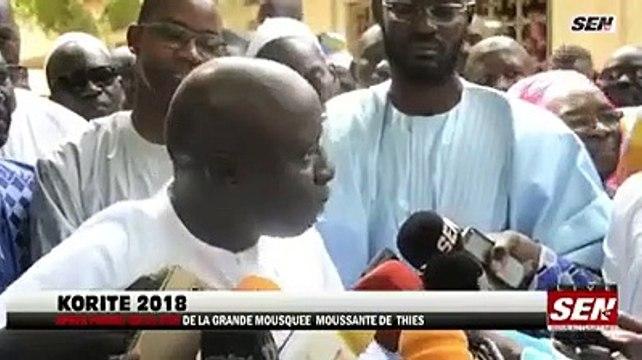 L'unité tant prônée par le président Idrissa SECK autour de l'équipe nationale