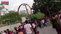 Inde : Les images terrifiantes d'un manège qui s'écroule (vidéo)