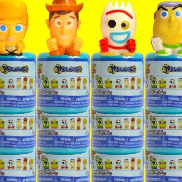 Toy Story 4 Mashems Forky, Woody, Bo Peep Learn Counting and Sorting
