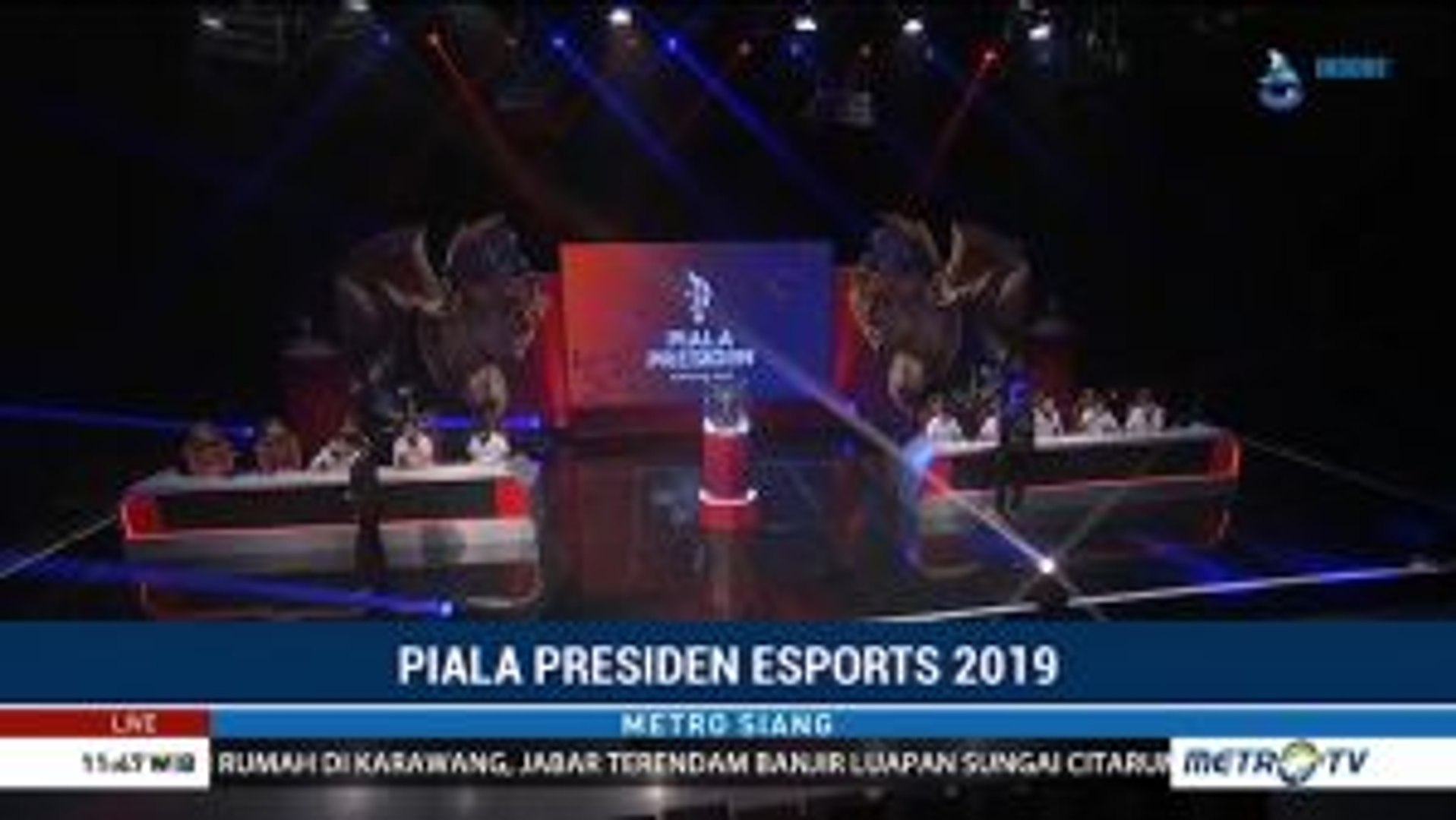 Final Kualifikasi Piala Presiden Esport Regional Pontianak Digelar Hari Ini
