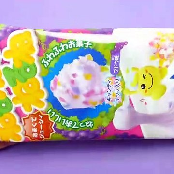 Kracie Popin Cookin DIY Candy Making Kit Nerunerunerune Grape Flower