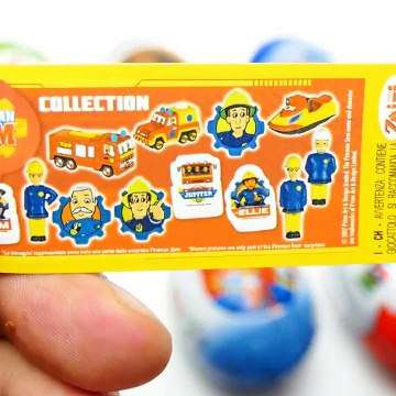 Super Surprise Eggs Kinder Surprise Paw Patrol and Muppets