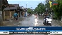 Banjir Rendam Sejumlah Titik di Cilincing dan Kelapa Gading