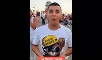 Les supporters qui attendent à Alger