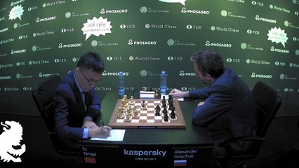 Grand Prix FIDE Riga 2019 Round 2 Game 2