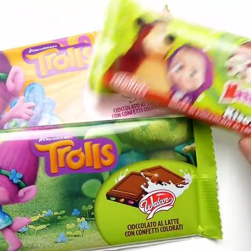 Trolls and Masha Orso Confetti Chocolate